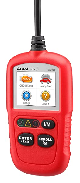 Autel AutoLink AL329 is an effective code reader that can comfortably help you to resolve most basic issues.