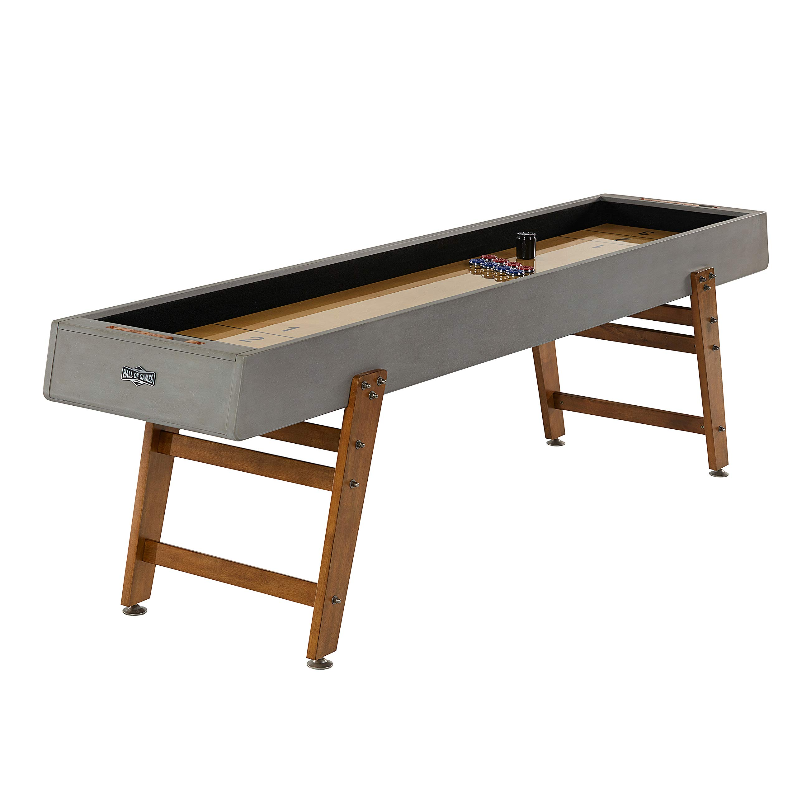 Hall of Games Kinwood 9ft Shuffleboard Table by Hall of Games