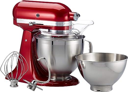 KitchenAid 5 ksm185pseca 4,8L Robot de cocina, Amor manzana rojo, color rojo: Amazon.es: Hogar