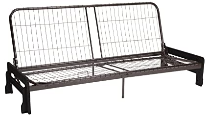 Strange Bali Futon Sofa Sleeper Bed Frame Queen Size Black Arm Finish Lamtechconsult Wood Chair Design Ideas Lamtechconsultcom