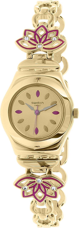 Swatch Women s Irony YSG140G Gold Stainless-Steel Swiss Quartz Watch