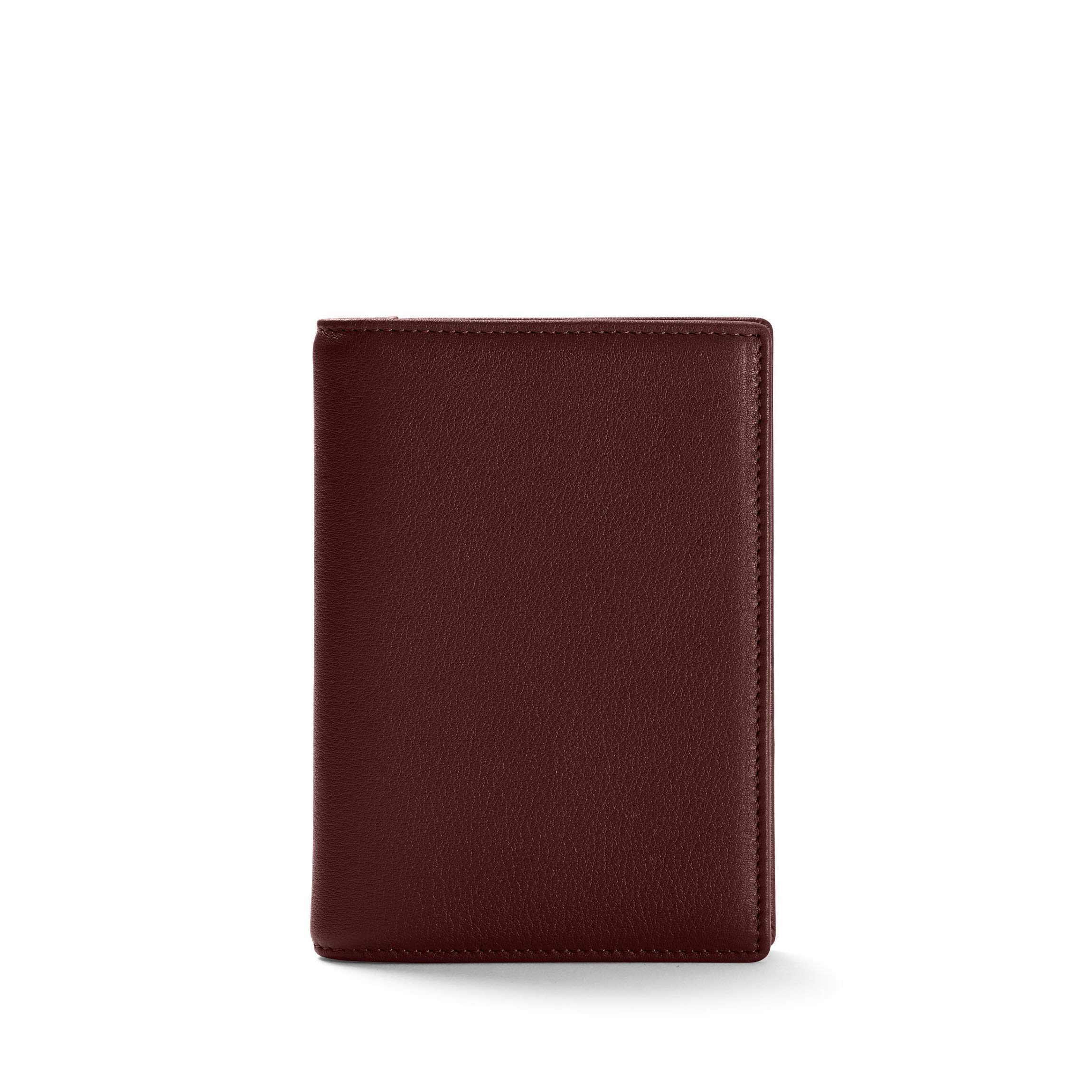 Leatherology Bordeaux Deluxe Passport Cover by Leatherology