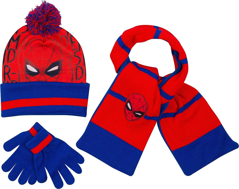 Bonnet Echarpe Gants Enfant Spiderman