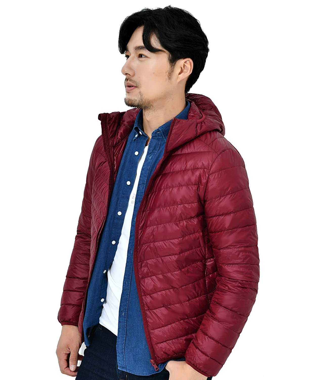 Mangadua Lightweight Puffer Coat Packable Hooded Duck Down Jacket