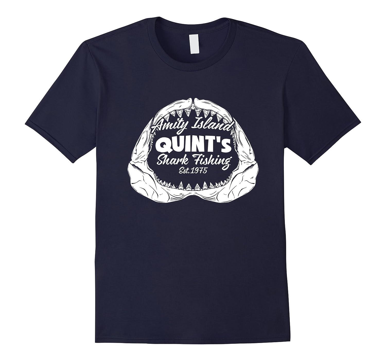 Amity Island Funny shark t shirt-BN