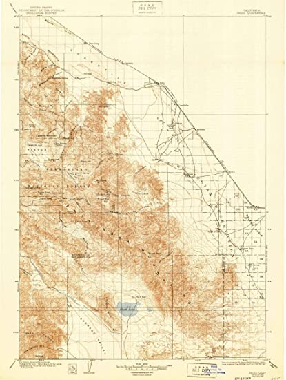 Amazon.com: 1904 Indio, CA | USGS Historical Topographic Map |Fine ...