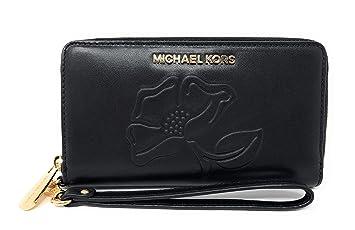 342c1857f559 Amazon.com: Michael Kors Nouveau Floral LG Flap Multi Function ...