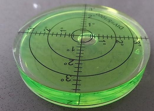 8 opinioni per Livella sferica ad alcol bolla in acrilico (liquido verde) diametro 66mm, Semi