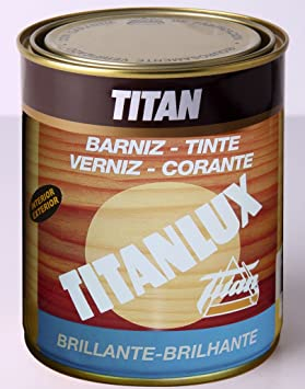 TITAN Bz. Tinte Lux Nogal 750 ml, único