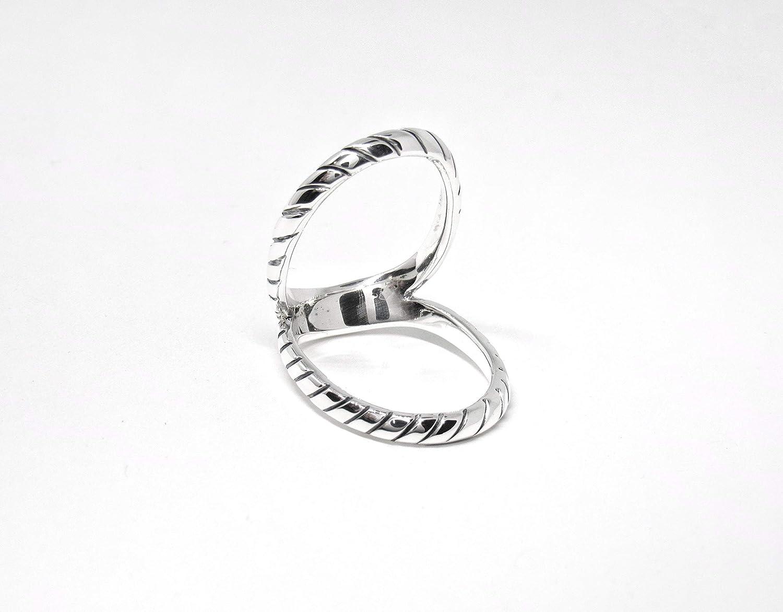 Sterling Silver Swan Splint Ring