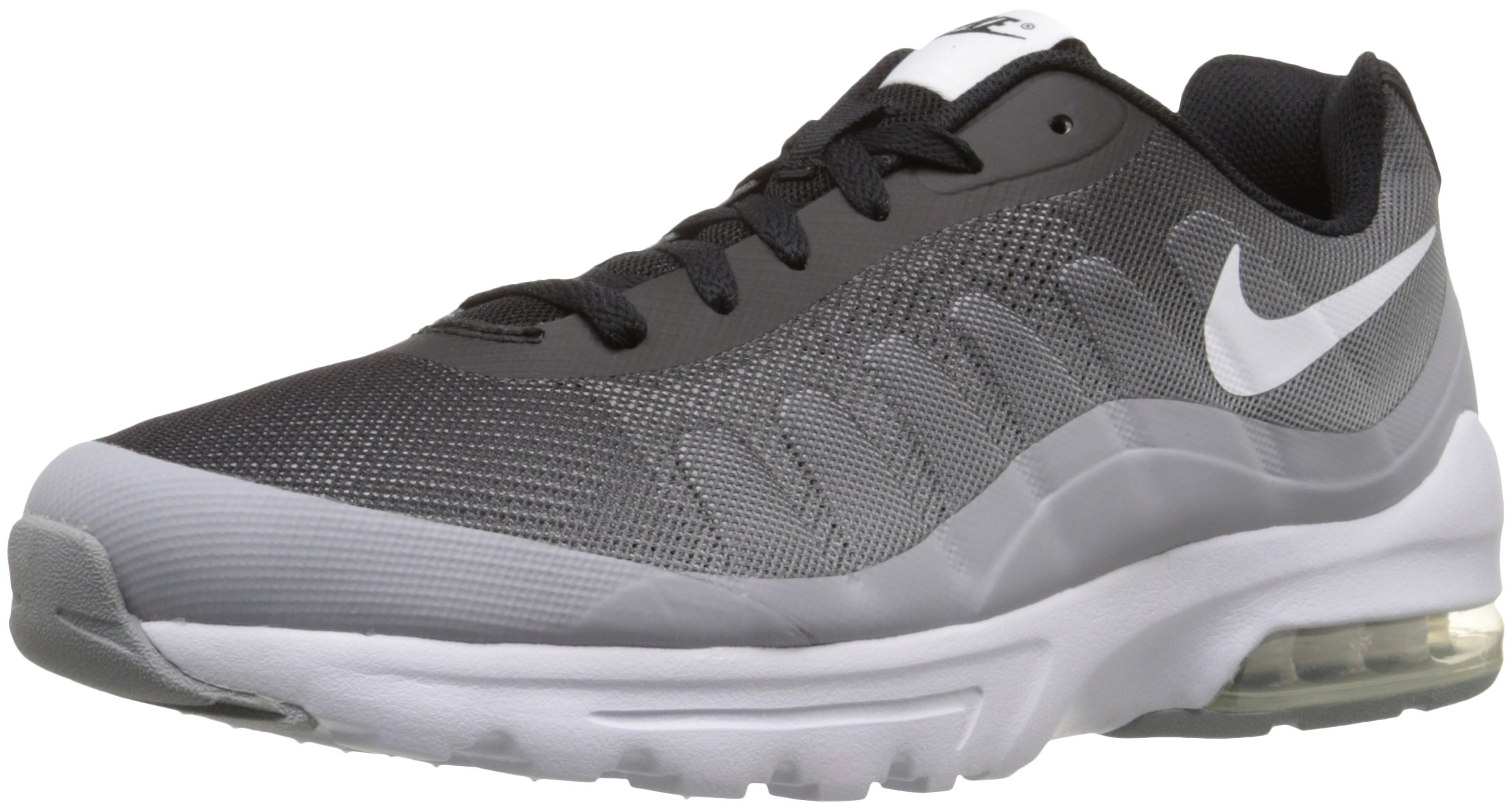 buy online 64035 a458c Galleon - NIKE Men s Air Max Invigor Print Running Shoe, Black White Wolf  Grey, 14 D(M) US