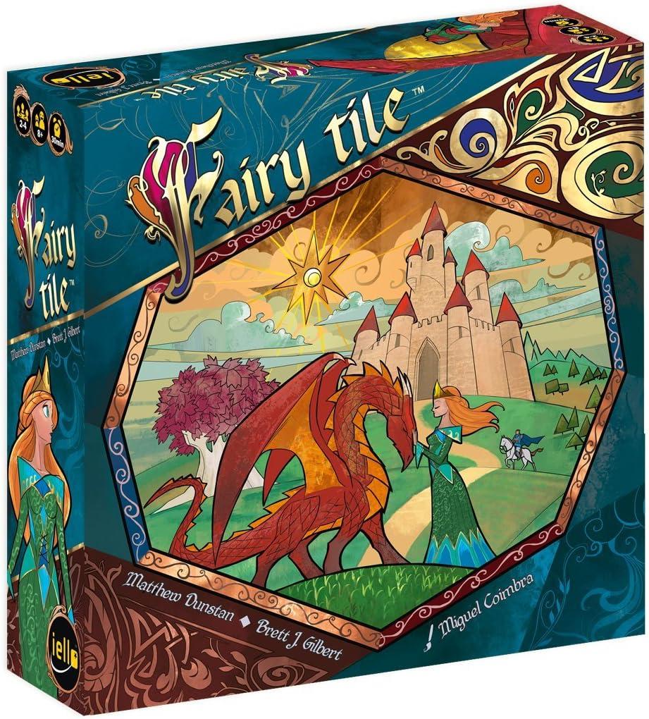 IELLO – Fairy Tile Juego de reflexión, 51395: Amazon.es: Juguetes y juegos