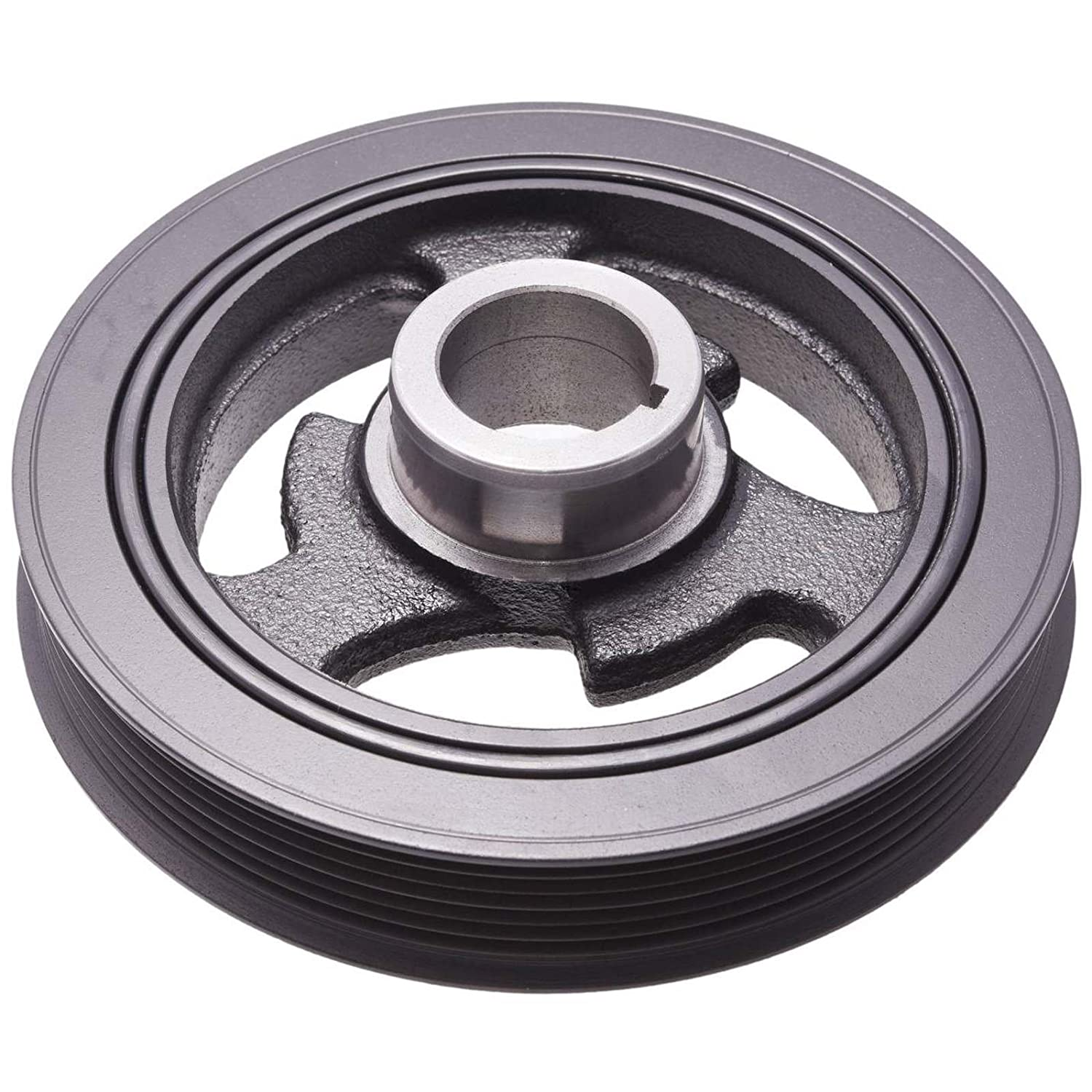 CRANKSHAFT PULLEY ENGINE. Febest: MZDS-MPV