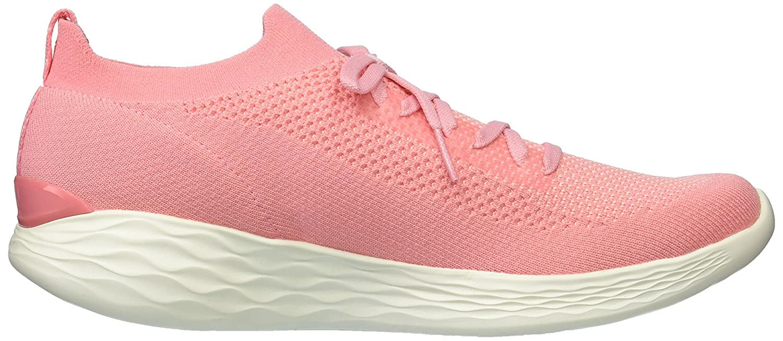 Skechers Women's You-Shine Sneaker B071K7PFBS 5 B(M) US|Pink