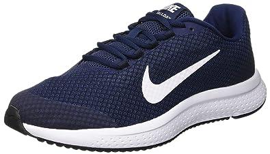 sports shoes 74e97 0aea5 Nike Men s RUNALLDAY Midnight Navy Running Shoes-10 UK India(45EU) (