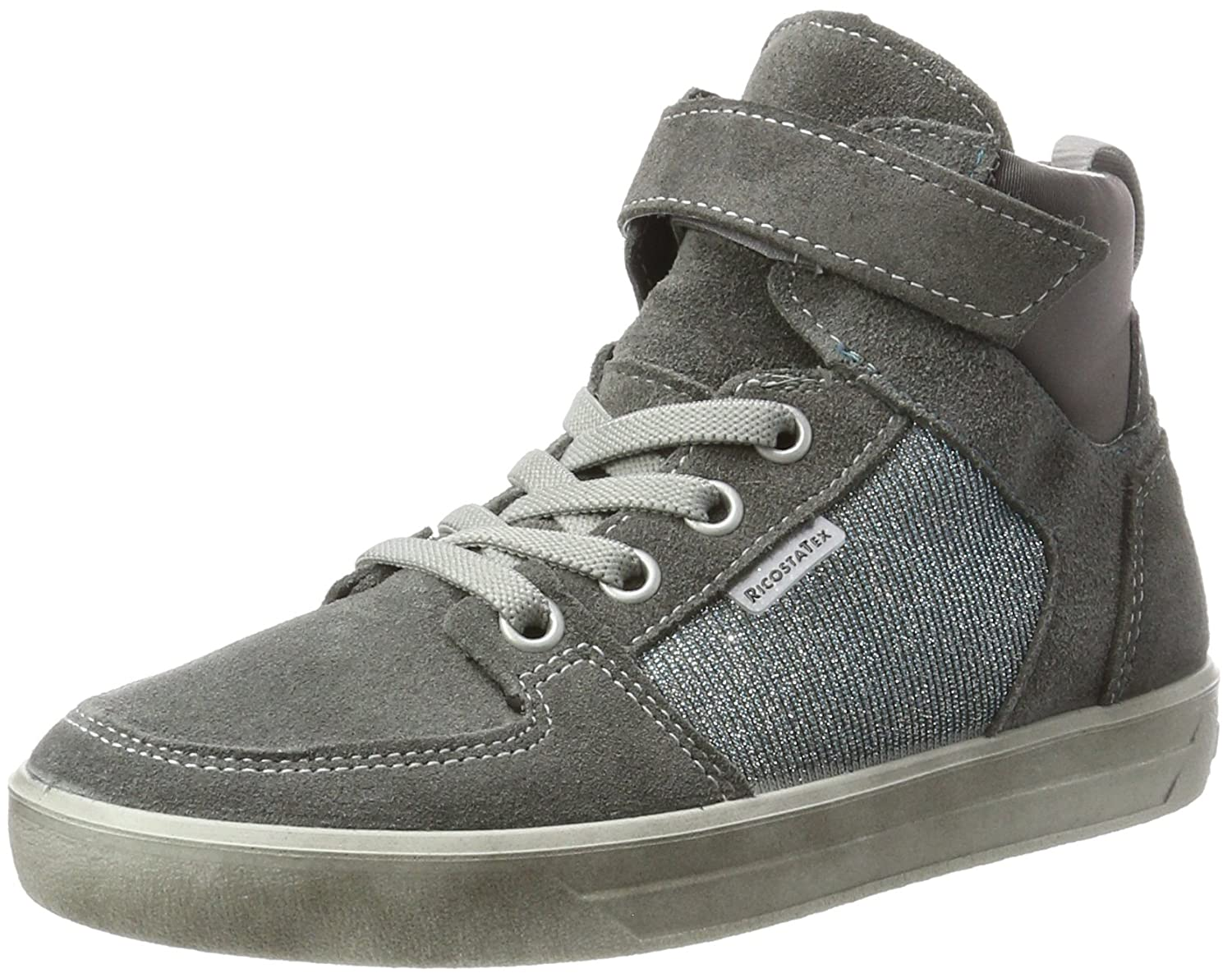 Ricosta Marle, Sneakers Hautes Fille, Gris (Patina/Himmer), 32 EU