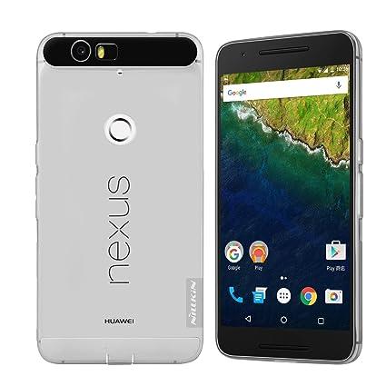 huge discount 1eb4d 77323 Nexus 6P Case, Nillkin Clear Soft TPU Cover, Light Slim: Amazon.in ...