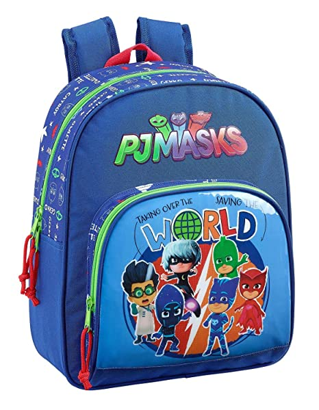 "Safta Mochila Infantil P J Masks ""World"" Oficial 280x100x340mm"