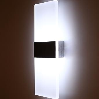 Topmo 12W Wandlampe LED Wandleuchten Ideal Fr Schlafzimmer Wohnzimmer Treppenhaus Und Lounges 29