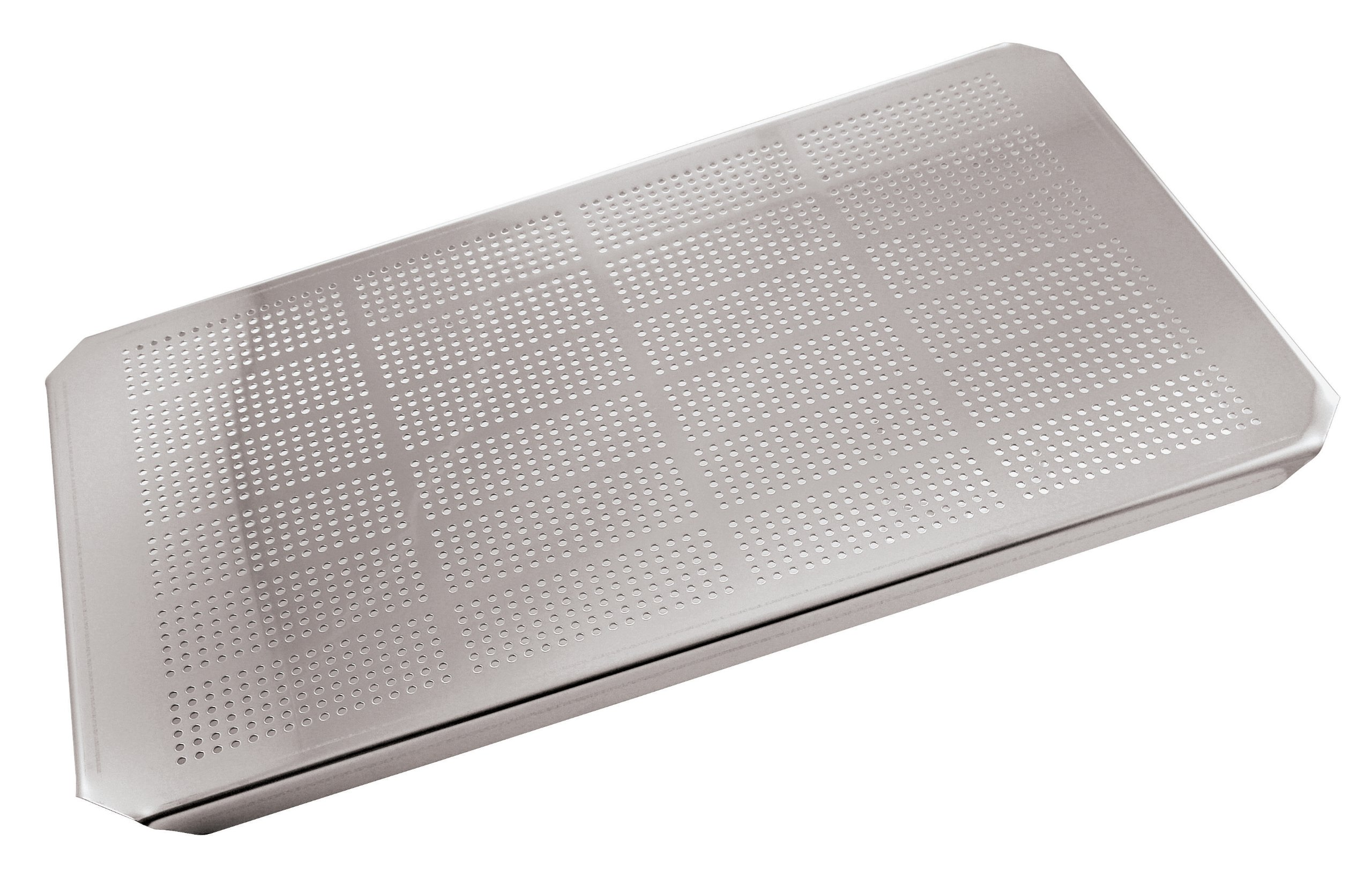 Paderno World Cuisine 20 7/8 inches by 12 3/4 inches Stainless-steel Drainer Plate for Hotel Pan - 1/1