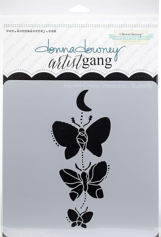 Donna Downey Stencils AG-017 Scrapbooking Multicolor