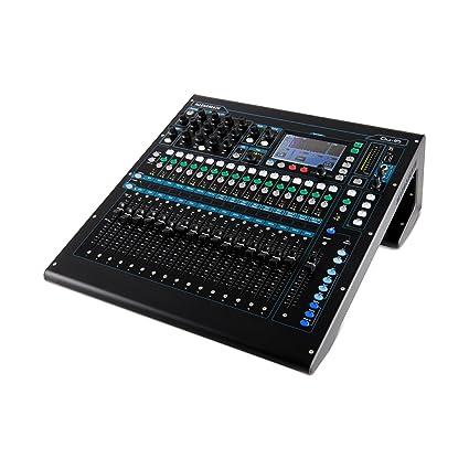 Allen & Heath Qu-16 Rack Mountable Digital Mixer for Live, Studio and  Installation