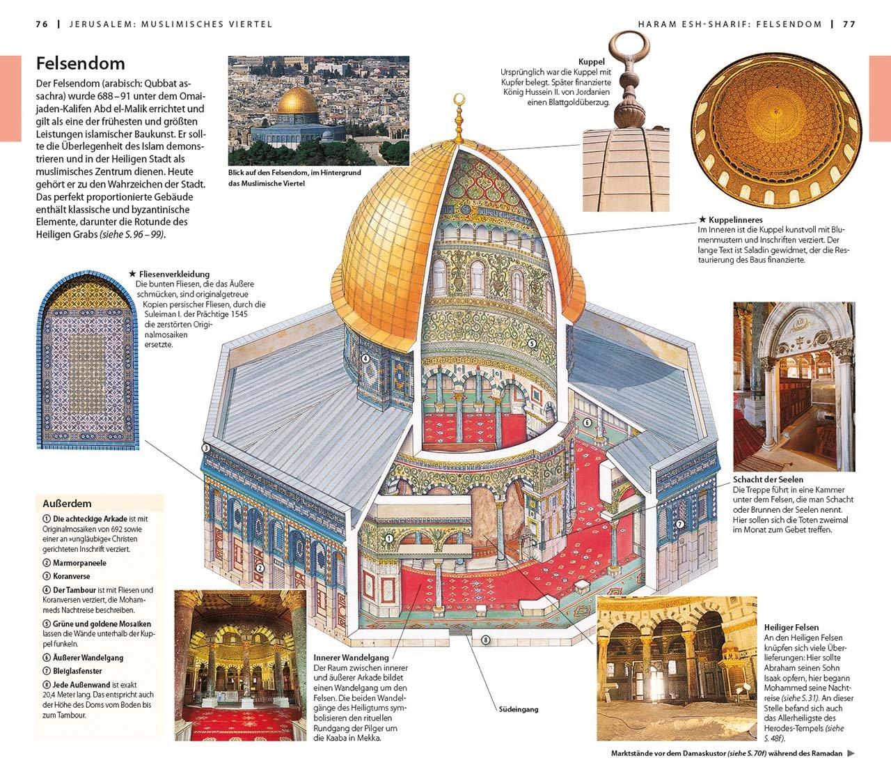 VisàVis Reiseführer Jerusalem Israel Petra Sinai - Fliesen malik
