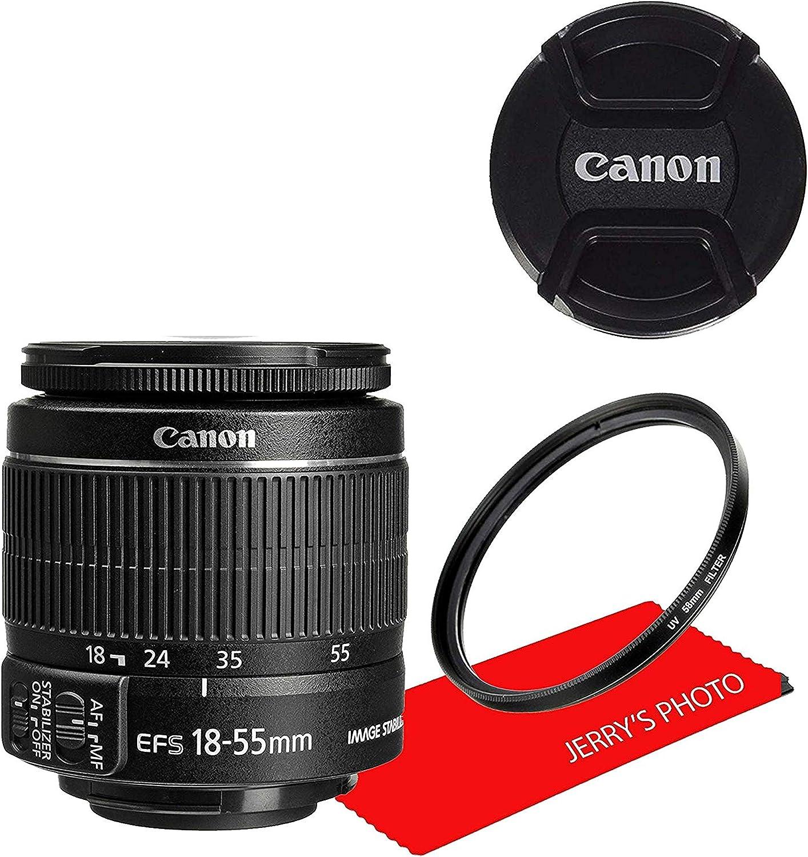 Canon EF-S 18 – 55 mm f/3,5 – 5,6 IS II Lente SLR Lente de la ...