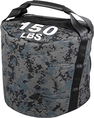 Happibuy 100 150 200LBS Adjustable Kettlebell Sandbag Workout Sandbag Strongman Sandbags for Fitness Sand Bags Heavy Duty Workout with Handles Sandbags for Training Fitness Cross Training