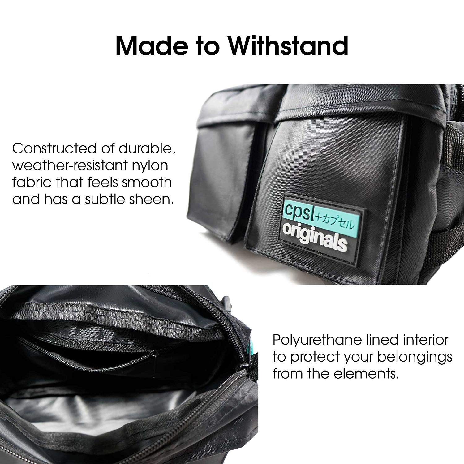 cpsl URBN Modern Hip Pack Fanny Pack Waist Bag for Men/&Women for Outdoors Workout Traveling Casual Running Hiking Cycling