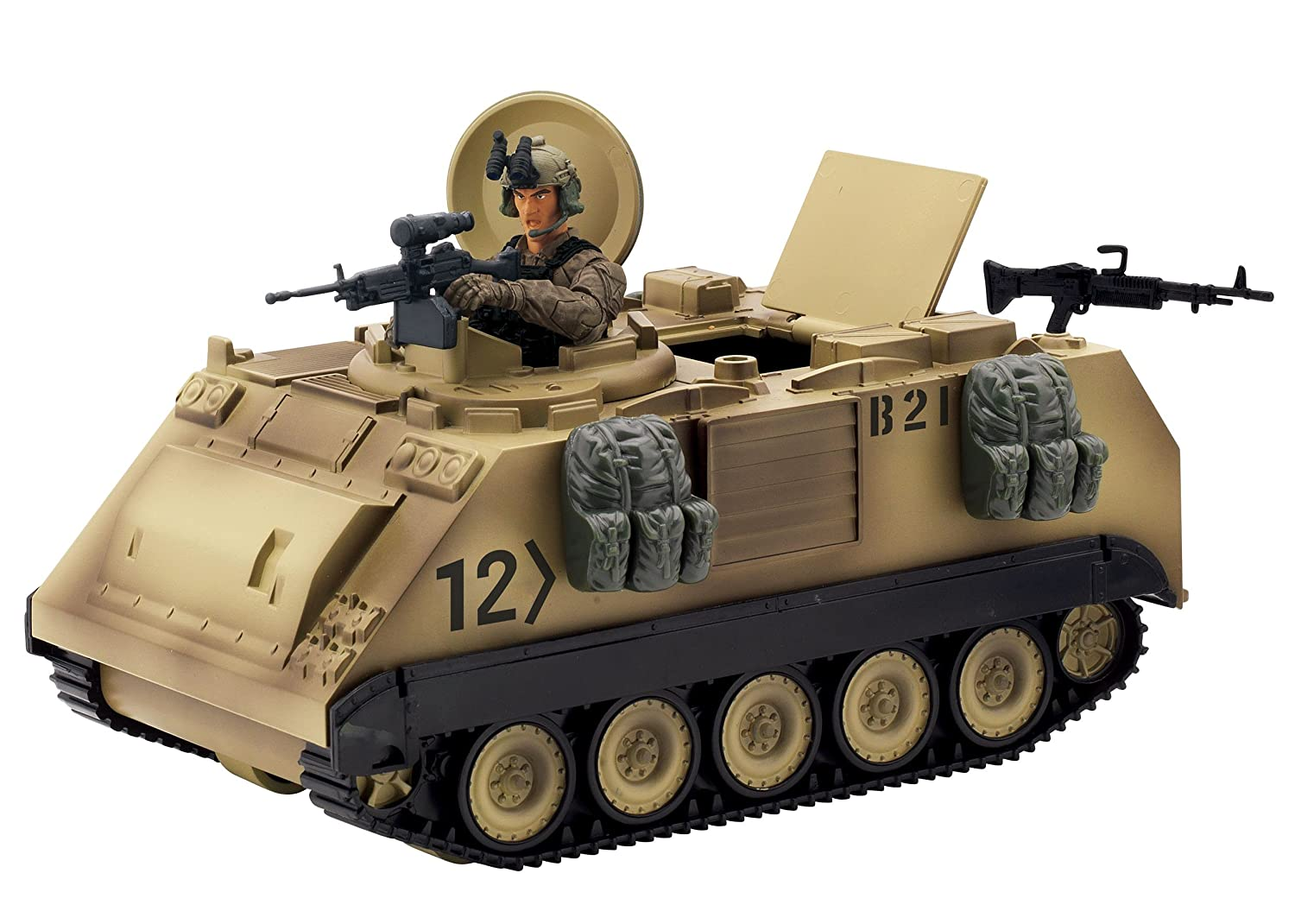 Sunny Days Entertainment Blue Box Toys The Elite Force M113 Desert Armored Military Vehicle Blue Box (Toys) 101857