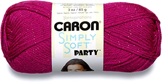 Amazon Com Caron Simply Soft Party Yarn 4 Medium Worsted