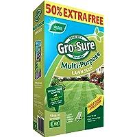 Gro-Sure Multi-Purpose Grass Lawn Seed, 15 m2, 450 g