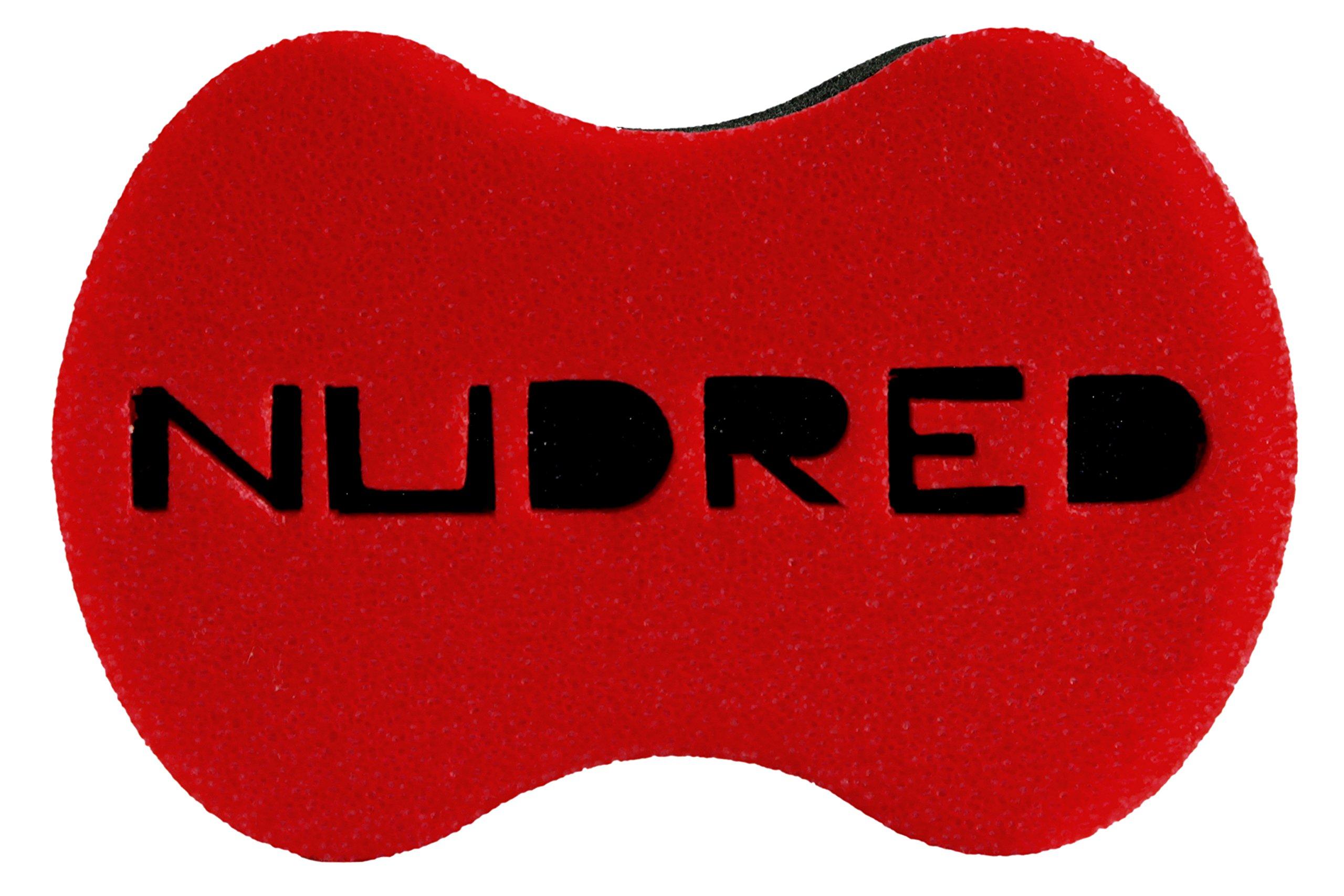 Standard Size RED Hair Sponge for Men/Women | The Original Hair Sponge | The NUDRED Natural Hair Care System