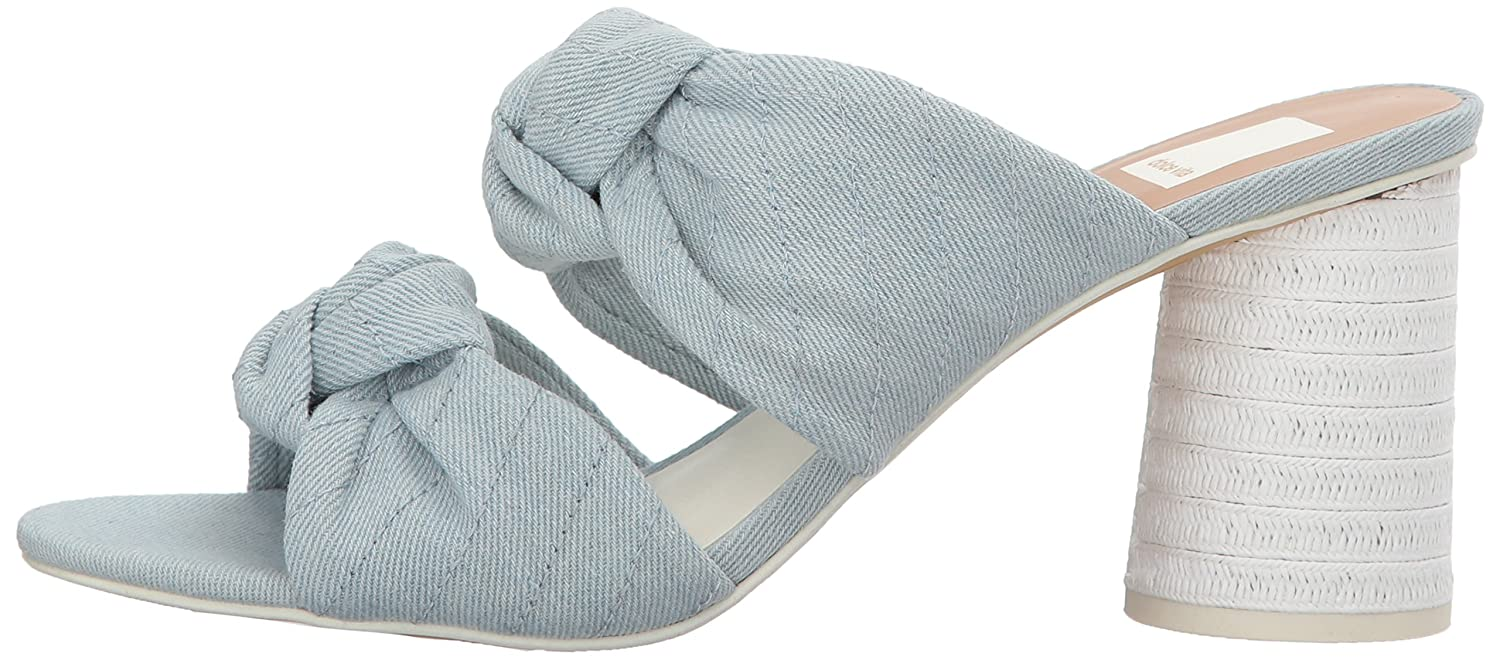 Dolce Vita B077QSH6J9 Women's Jene Slide Sandal B077QSH6J9 Vita 7.5 B(M) US|Light Blue Denim 17903f