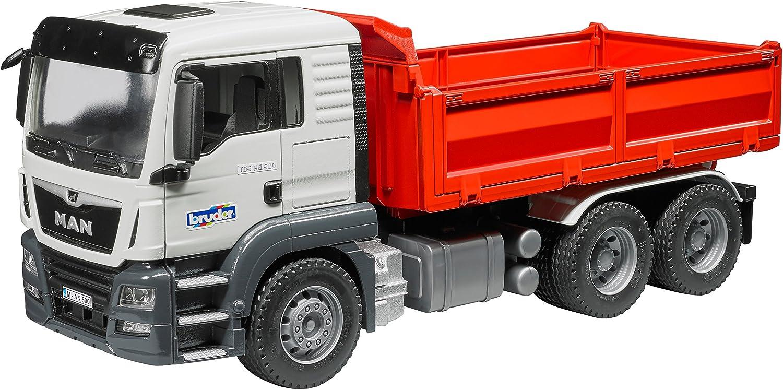 Bruder 03765 Mann Tgs Construction Dump Truck Vehicle