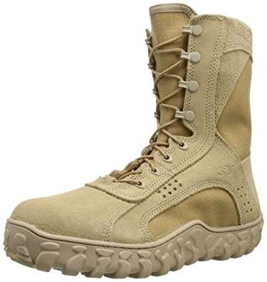 Amazon.com | Rocky Men's S2V Coyote Steel Toe Work Boot ...