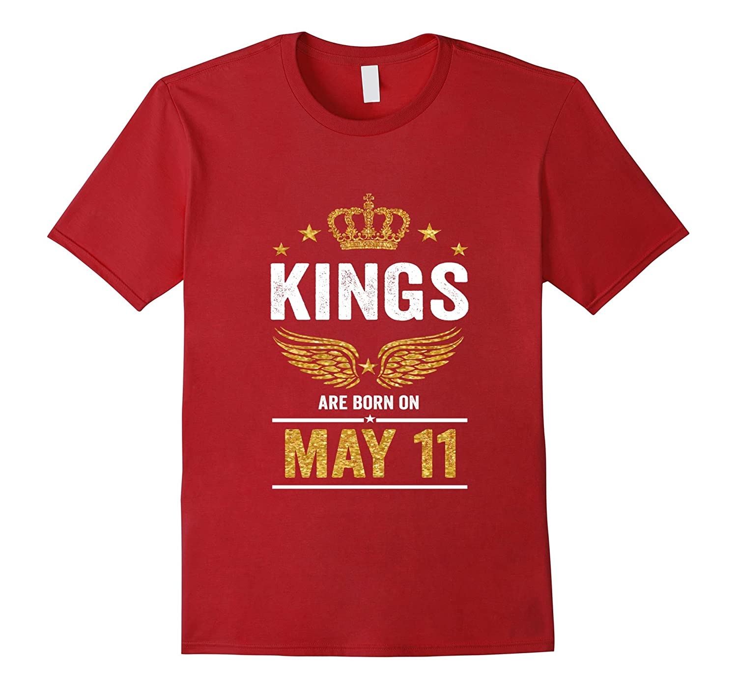Kings Are Born On May 11 Birthday T-Shirt-CD