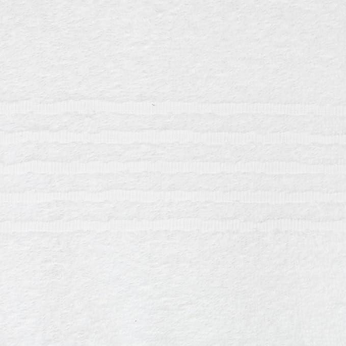 ZOLLNER 4 Toallas de Mano para Lavabo, 50x100 cm, algodón 100%, Blancas: Amazon.es: Hogar