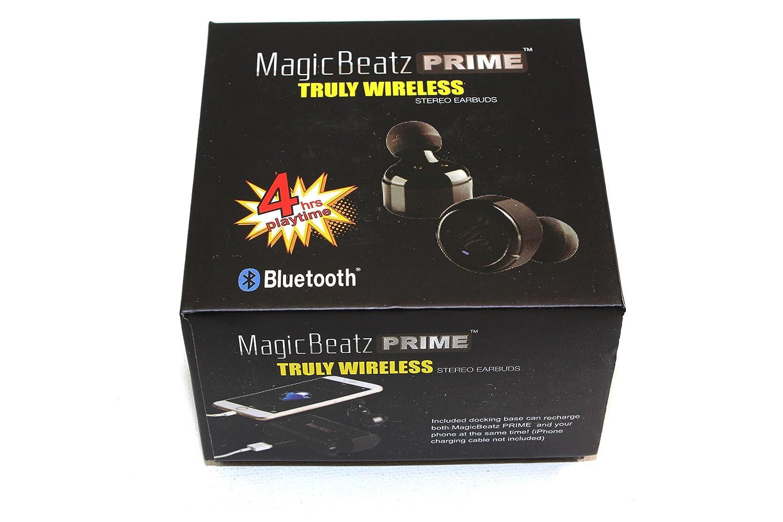 e661b05c8b0 Amazon.com: [Black] M-beatz Sports True Wireless Headphones Bluetooth  Earbuds with Microphone Wireless Earphones with Charging Box, Wireless  Earbuds for ...