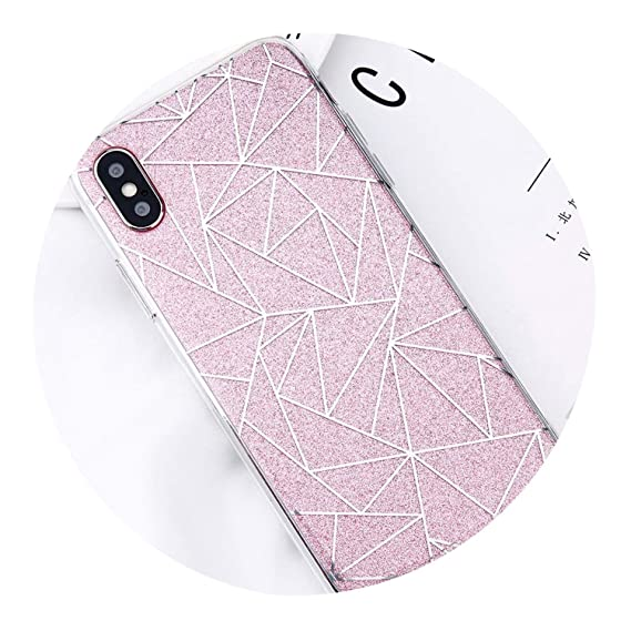 Case For IPhone 6 S Glitter Back Cover For Fundas IPhone 8 7 5 5S