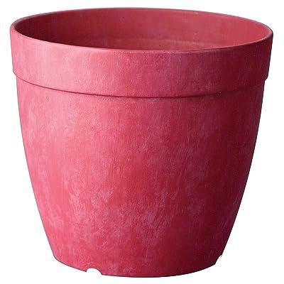 Artstone Dolce Round Planter, 8-Inch, Rose : Garden & Outdoor