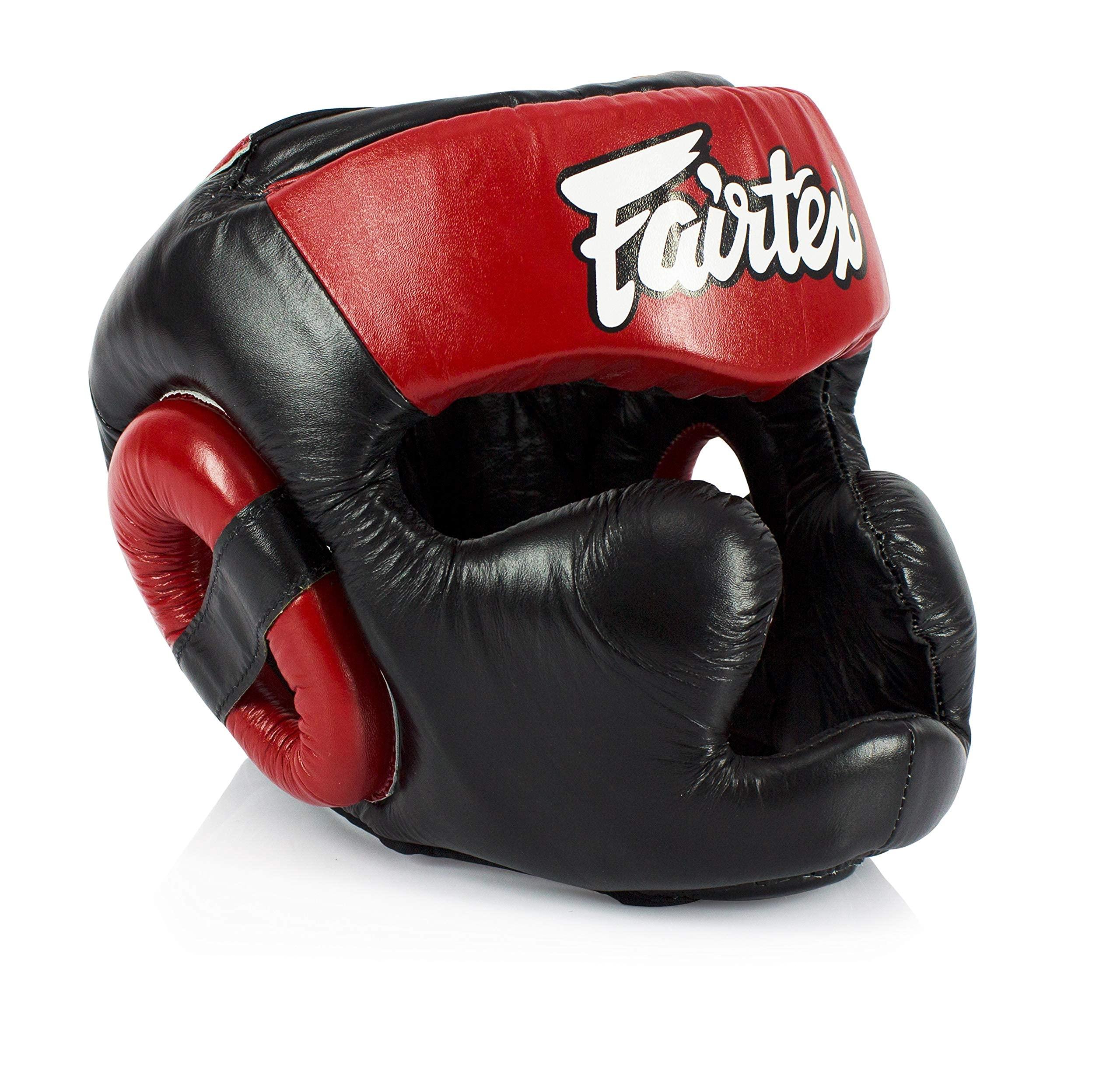 FAIRTEX HG13 MUAY THAI HEADGEAR HEADGUARD BOXING MMA SPARRING FULL KICKBOXING