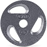 CAP Barbell Standard 1-Inch Grip Plate, Single