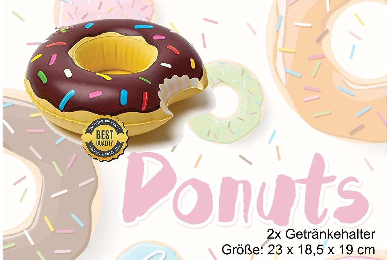 Gigante XXL 90 cm inflable donut sandía melón anillo de natación rojo anillo de natación piscina de colchoneta de aire inflable para la piscina, ...