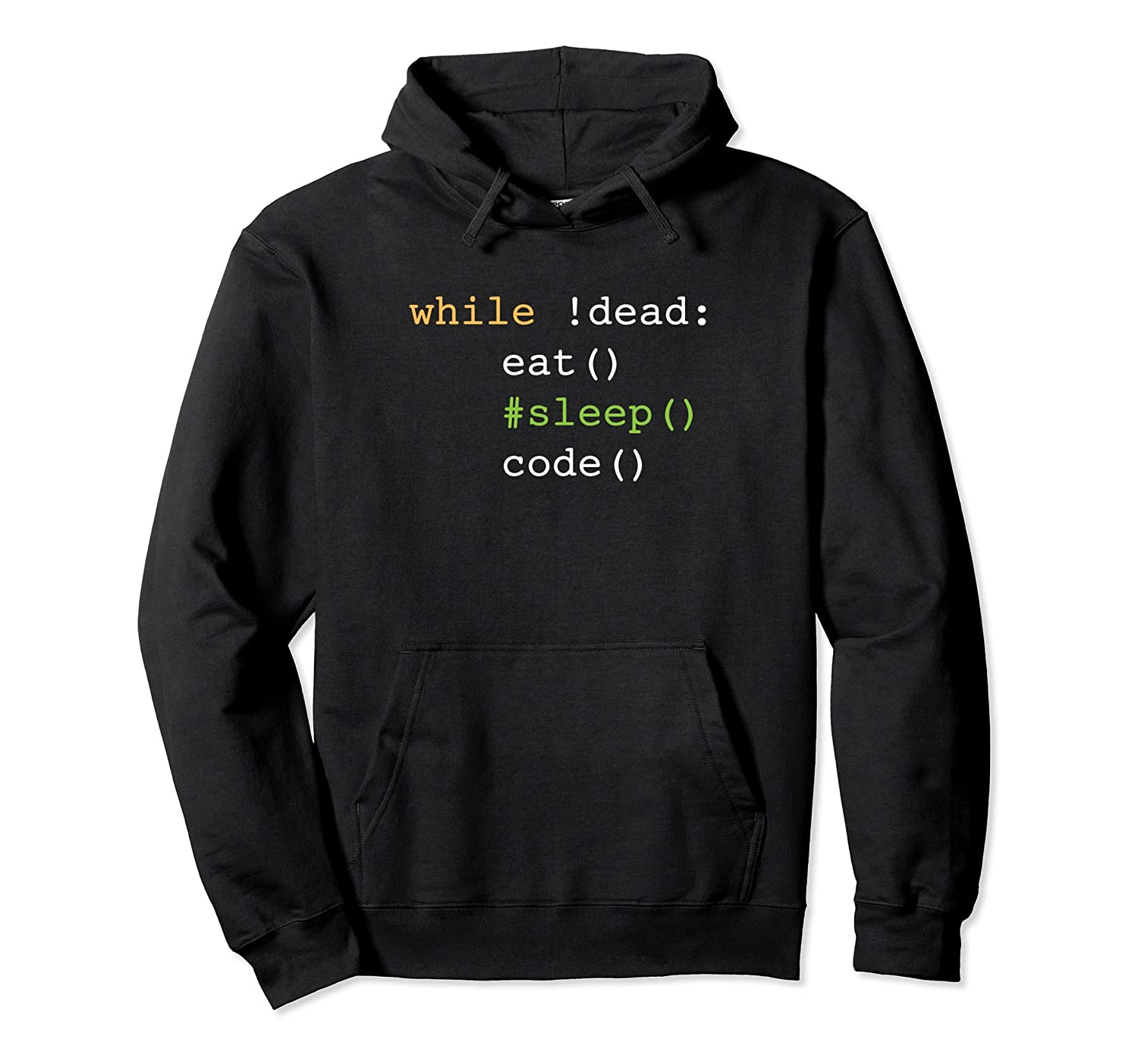 Funny Eat Sleep Code Python Hoodie for Software Developers-anz