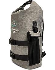 FE Active - 25 Liter Dry Bag Waterproof Backpack Dry Sack Laptop Sleeve Water Sports, School, Outdoors, Camping, Backpacking, Hiking, Kayaking, Boating, Rafting, Trekking | Designed in California, USA