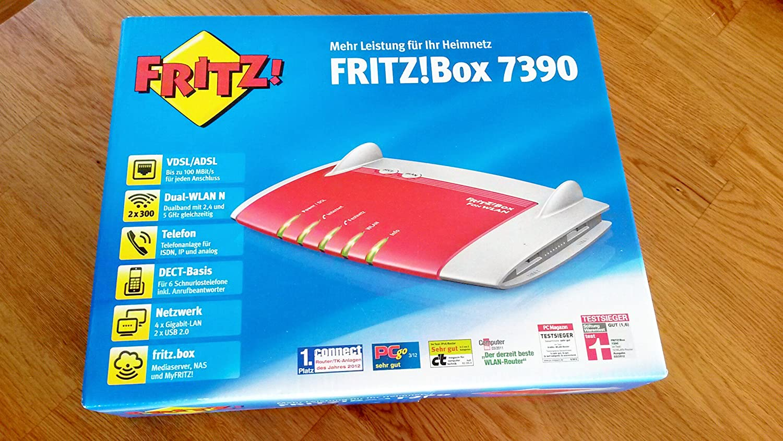 Avm Fritz Box Fon Wlan 7390 Elektronik