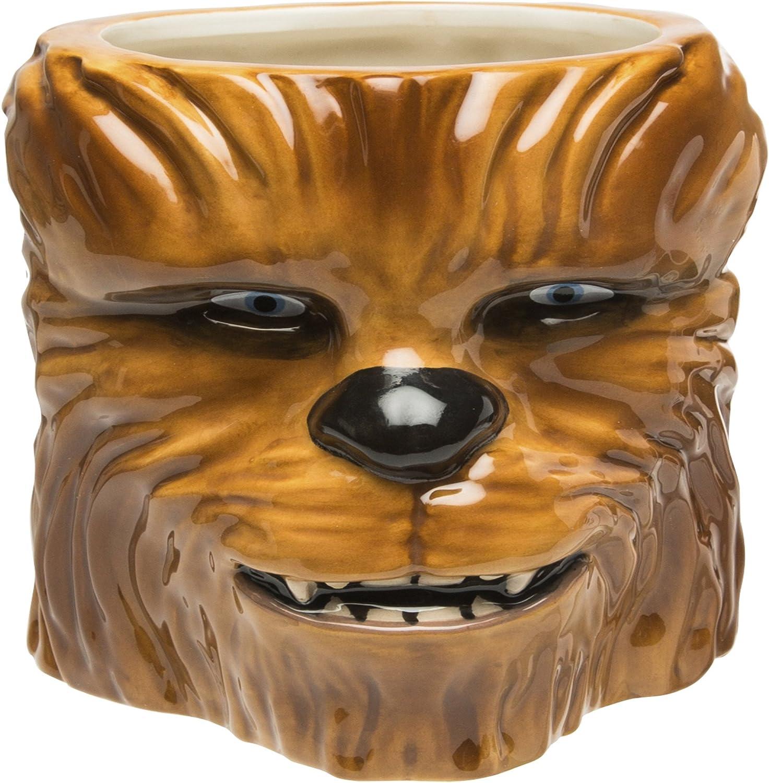 Zak Designs Coffee Mugs, Sculpted, Star Wars Ep4 Chewbacca