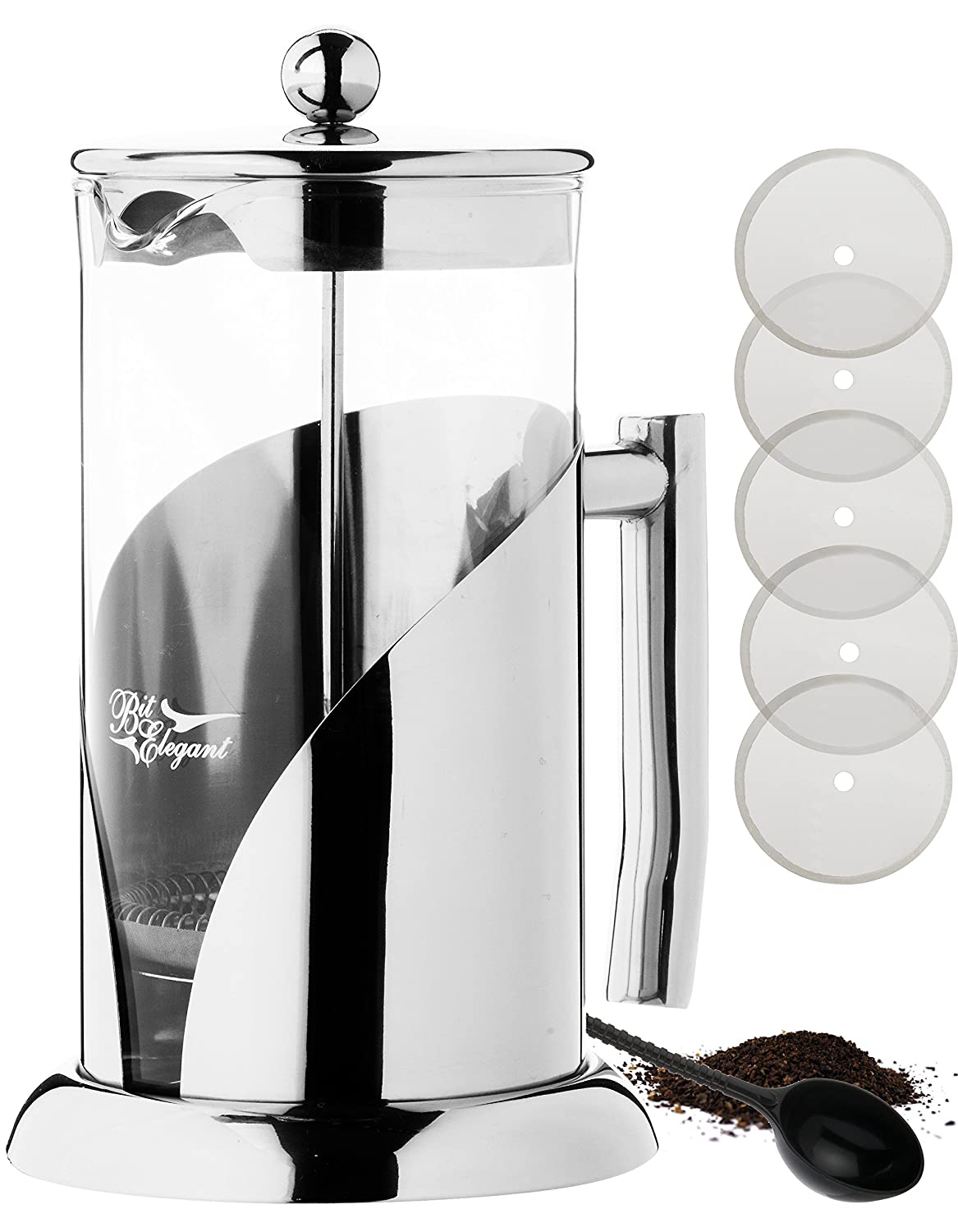 BitElegant French Press Coffee & Tea Maker
